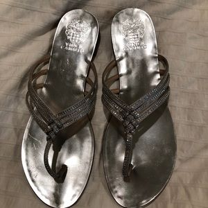 👡Silver Vince Camuto Sandals
